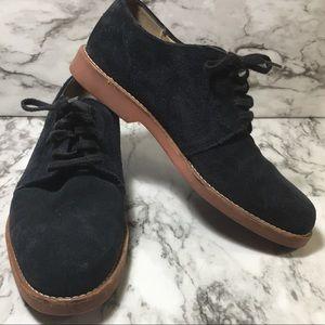 Men's COLE HAAN blue suede dress shoes size 9